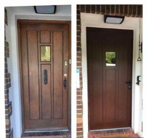 Replicating Wooden Doors in Aluminium – can it be done??